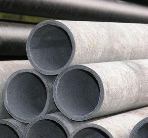 Трубы и муфты хризотилцементные безнапорные в компании