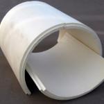 Скорлупы хризотилцементные для изоляции труб