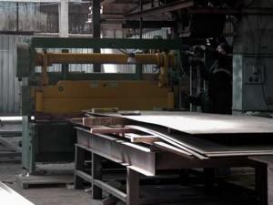Резка металла гильотиной от компании Анмет