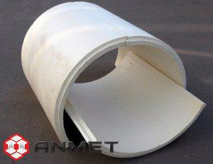 Скорлупы хризотилцементные для изоляции трубопроводов купить в Челябинске