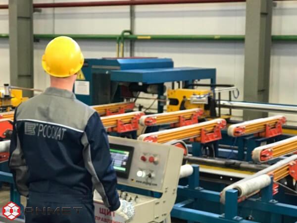 Производство медных проводящих электрический ток сплавов в компании Росскат